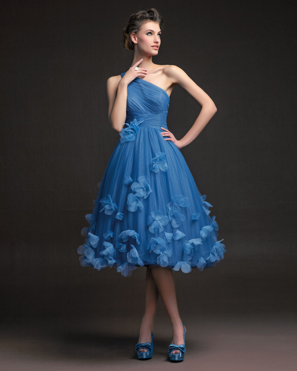 Gorgeous-2014-bridesmaid-dresses-from-aire-barcelona-blue-one-shoulder-retro-inspired.full
