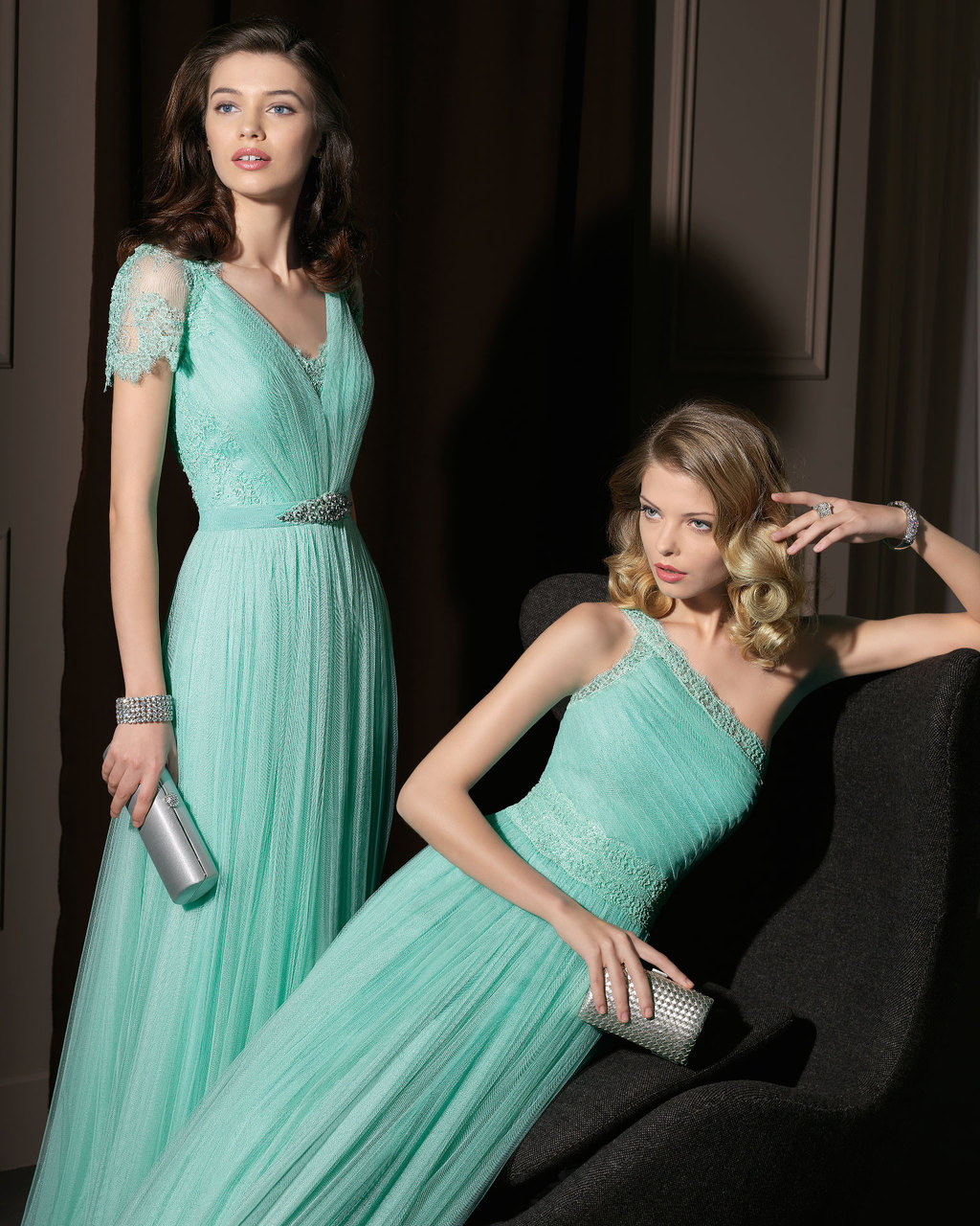 Gorgeous-2014-bridesmaid-dresses-from-aire-barcelona-mint-lace-and-tulle.full