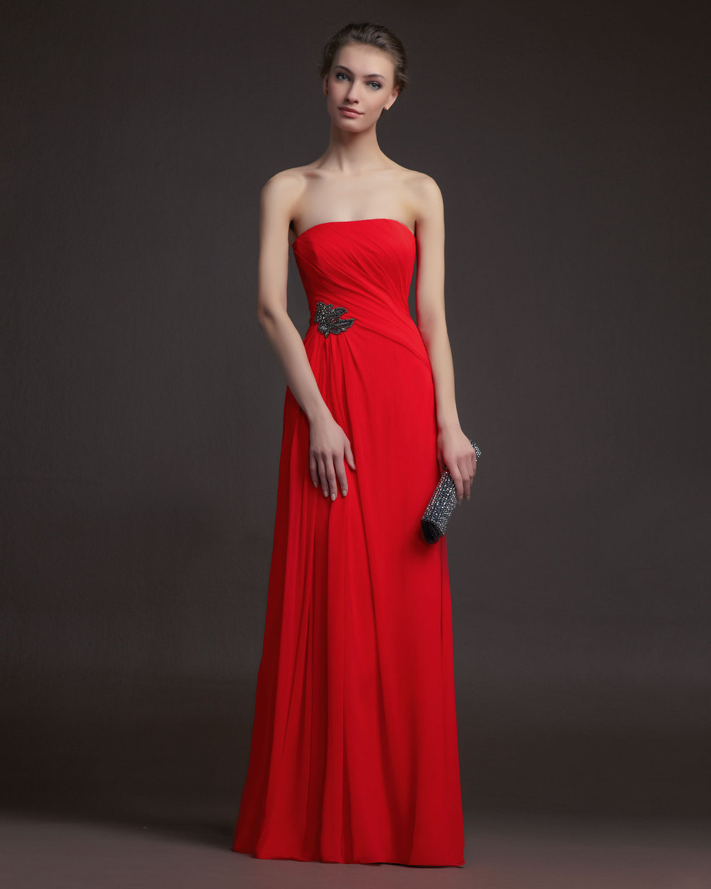 Gorgeous-2014-bridesmaid-dresses-from-aire-barcelona-strapless-orange-red.full