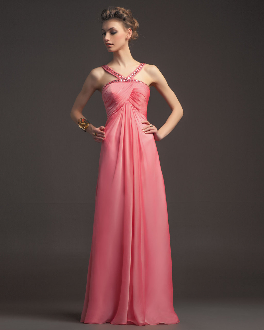 Gorgeous-2014-bridesmaid-dresses-from-aire-barcelona-vintage-peachy-pink-with-beaded-neckline.full