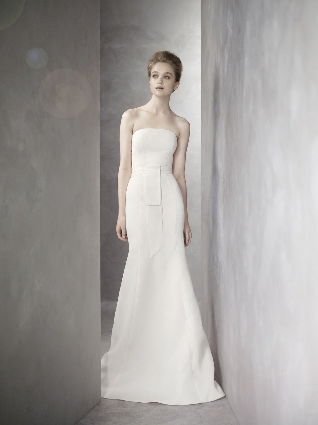 White by vera wang wedding dress fall 2012 vw351081 for White vera wang wedding dresses