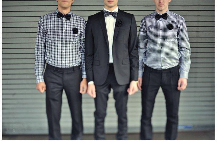 Casual-grooms-attire-navy-blue.full