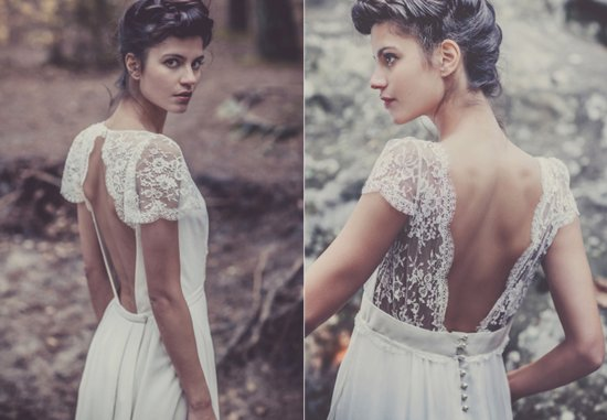 Laure de Sagazan wedding dress French bridal designers