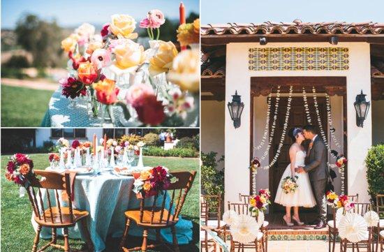 Vintage Goth Bouquet Fall Wedding Theme