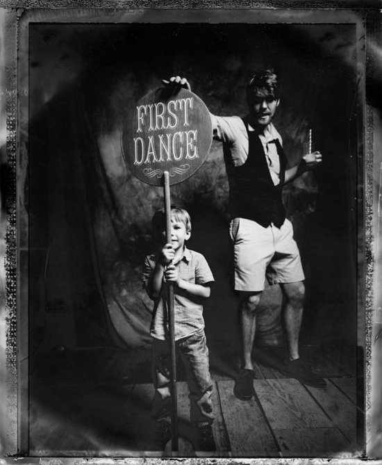 Josh Goleman wedding photography awesome vintage first dance sign