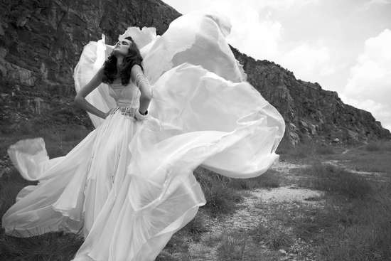 photo of Travel Back In Time with Catherine Deane Wedding Dresses