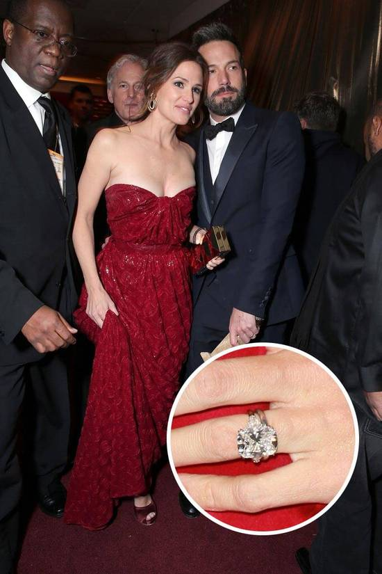 Most Loved Celebrity Engagement Rings Jennifer Garner