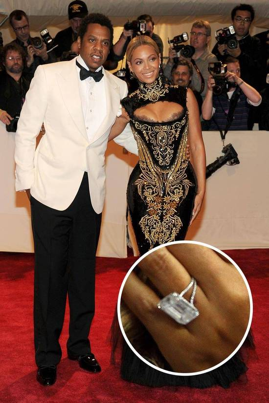 Most Loved Celebrity Engagement Rings Beyonce