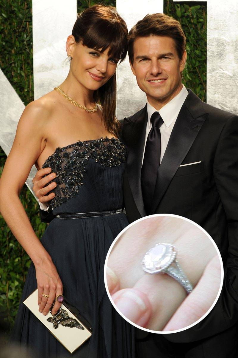 Most Loved Celebrity Engagement Rings Katie Holmes ...