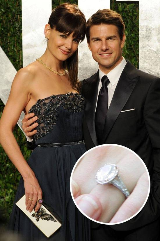 Most Loved Celebrity Engagement Rings Katie Holmes
