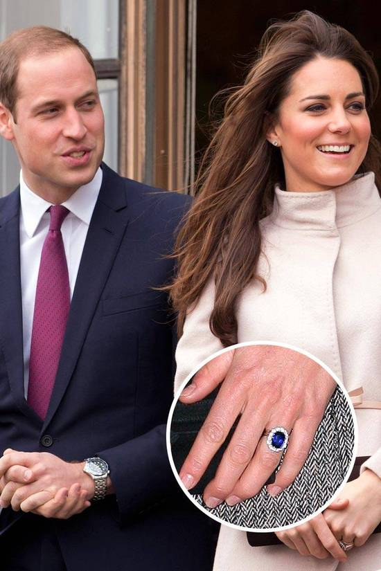 Most Loved Celebrity Engagement Rings Kate Middleton