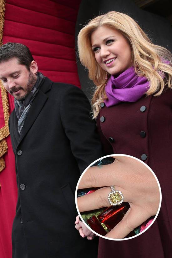 Most Loved Celebrity Engagement Rings Kelly Clarkson