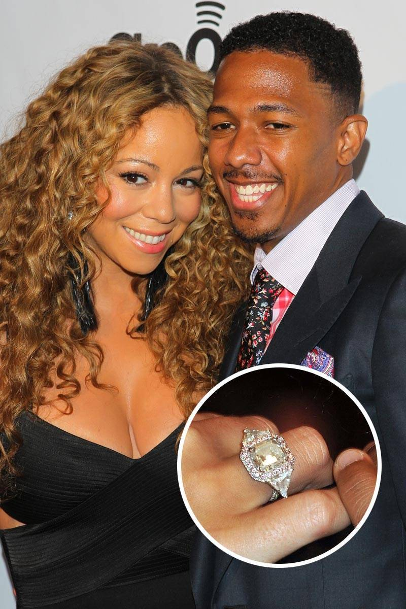 Most Loved Celebrity Engagement Rings Mariah Carey