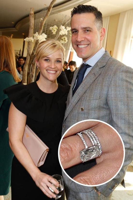 Most Loved Celebrity Engagement Rings Reese Witherspoon