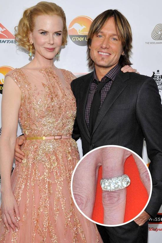 Most Loved Celebrity Engagement Rings Nicole Kidman