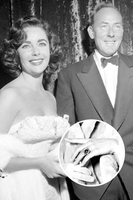 Most Loved Celebrity Engagement Rings Elizabeth Taylor