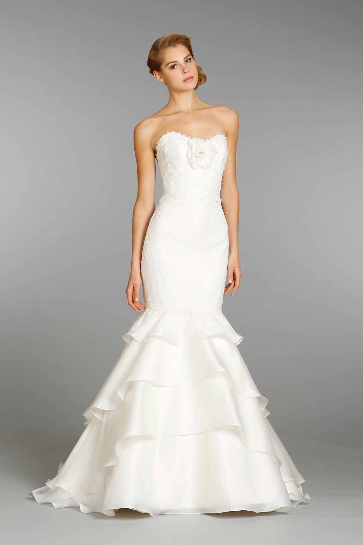 Alvina valenta wedding dress fall 2013 bridal 9353 for Alvina valenta wedding dress