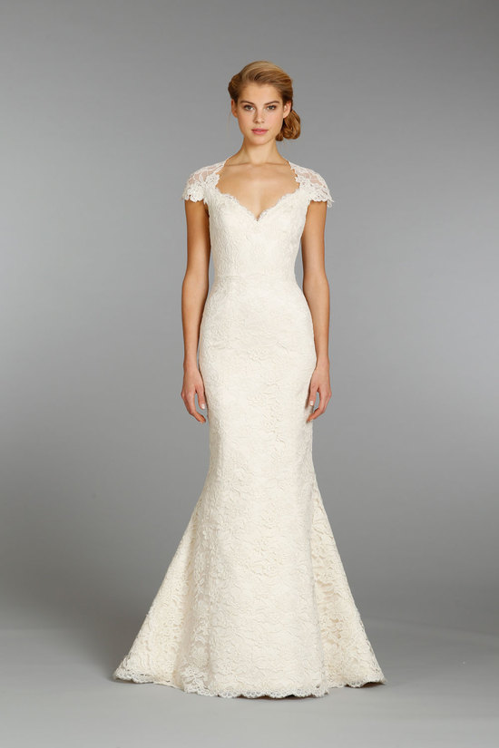Alvina Valenta wedding dress Fall 2013 Bridal 9358