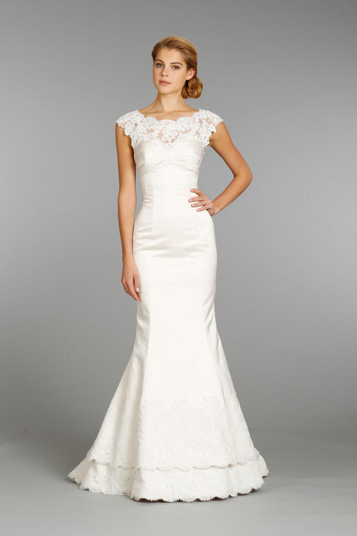 Alvina valenta wedding dress fall 2013 bridal 9361 for Alvina valenta wedding dress