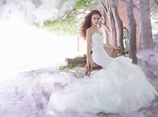 Fall 2013 wedding dress by Alvina Valenta editorial