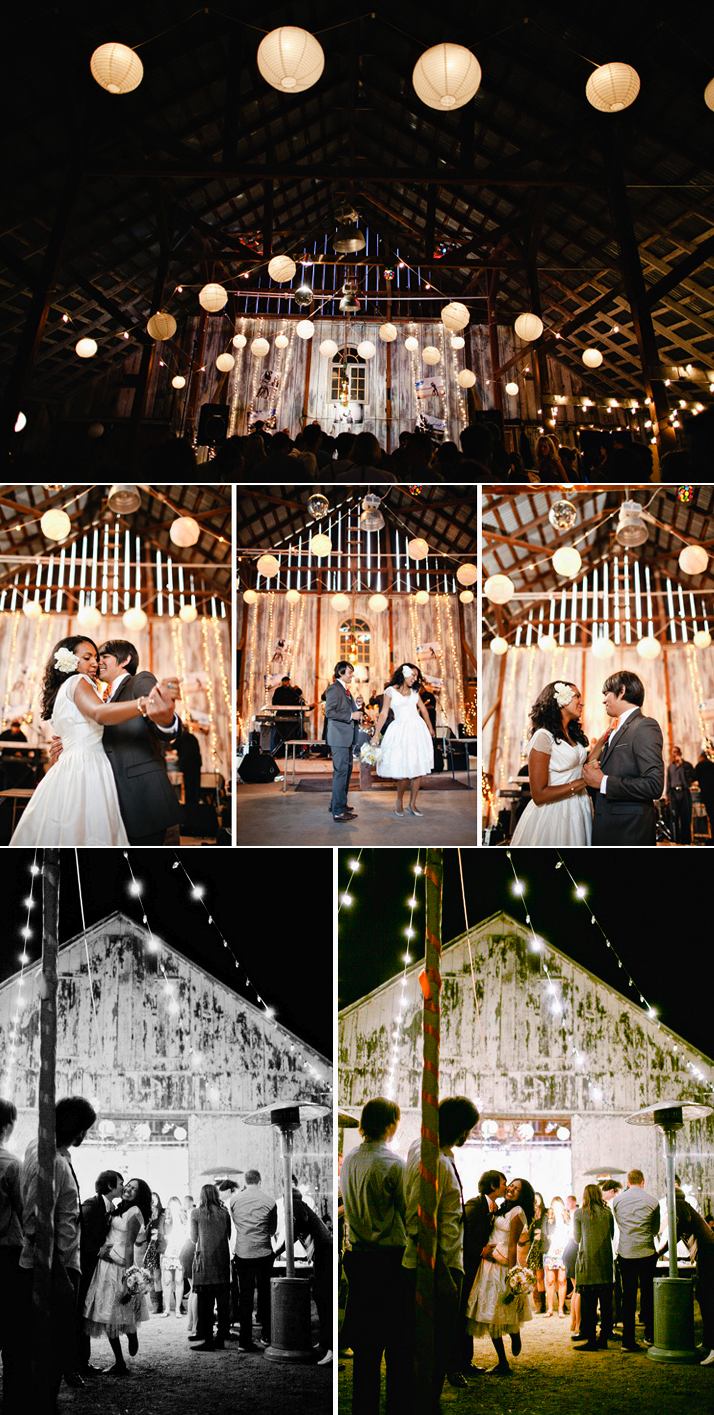 Real california weddings vintage bride barn wedding for Wedding spots in california