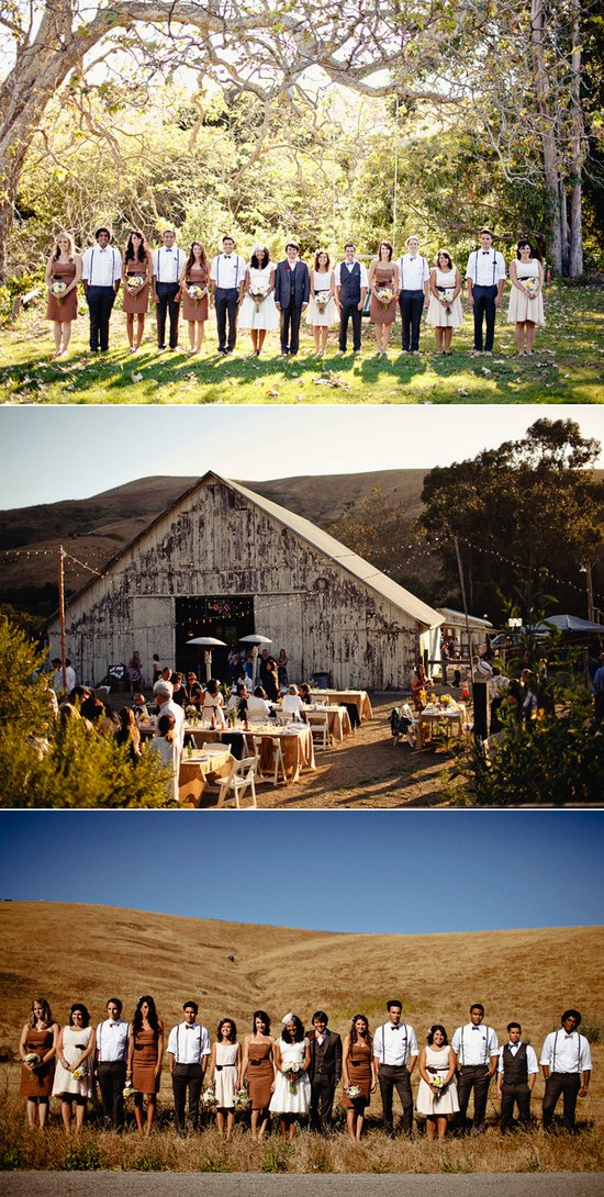 Real California weddings- vintage bride, barn wedding venue by Matthew Morgan Photography- 8