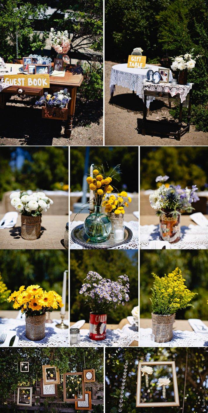 Real-california-wedding-vintage-wedding-reception-decor.full