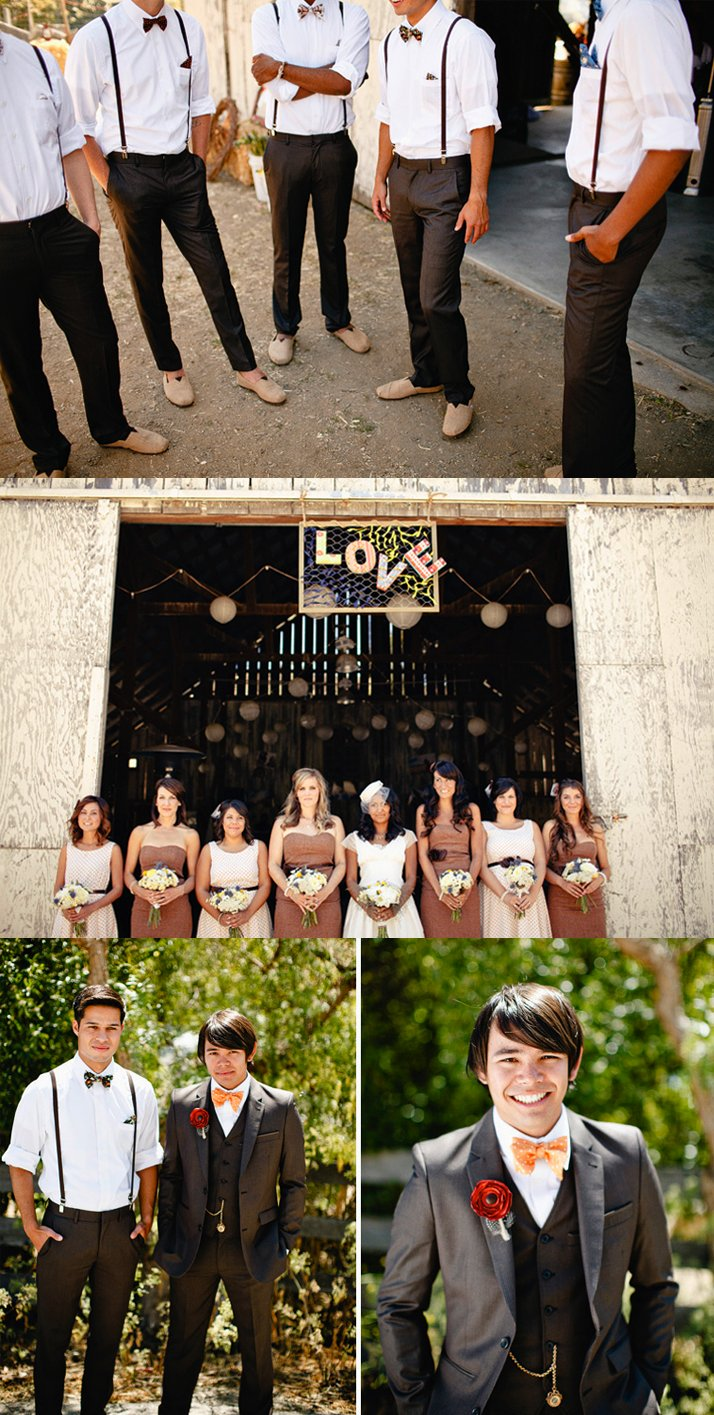 Vintage-wedding-california-barn-venue-dapper-grooms-attire.full