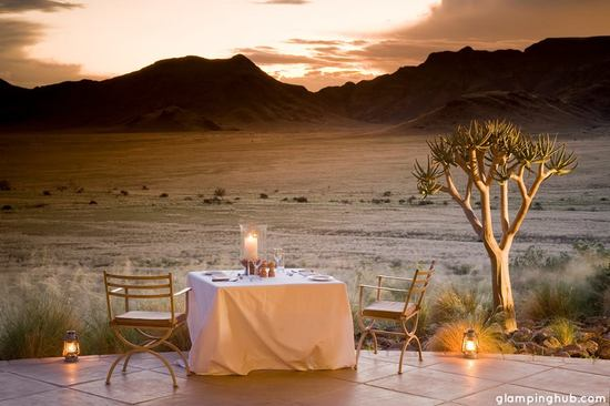 photo of Wedding glamping in the Africa desert