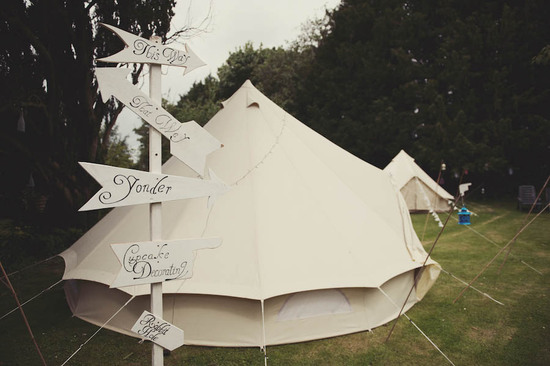 photo of The Bride's Guide to Glamping