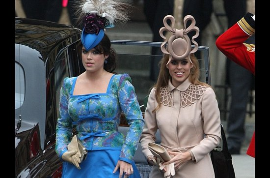 Sensational real wedding photos- crazy hats at the royal wedding
