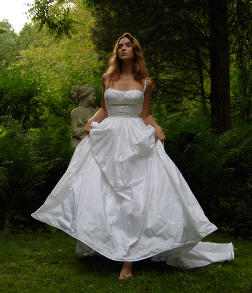 photo of Eugenia couture wedding dress 2013 bridal 13