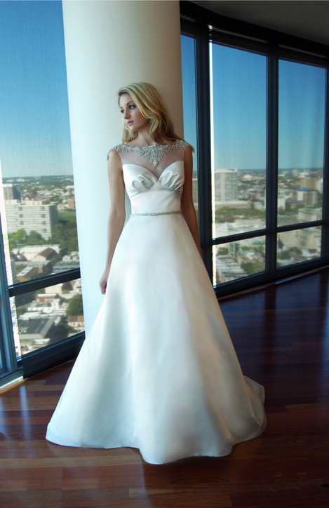 photo of Eugenia couture wedding dress 2013 bridal 11
