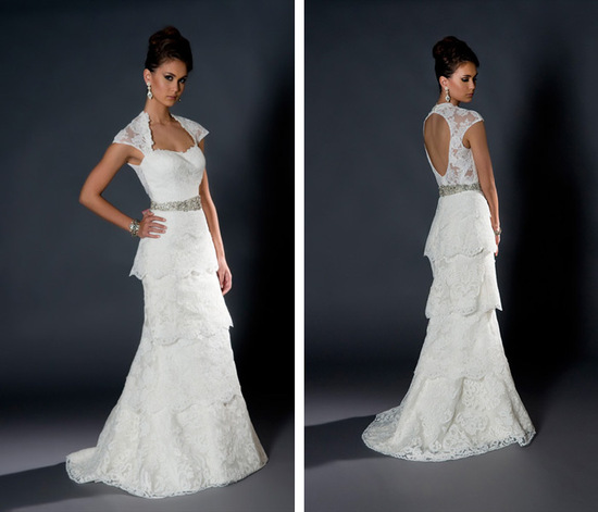 Eugenia couture wedding dress 2013 bridal 9