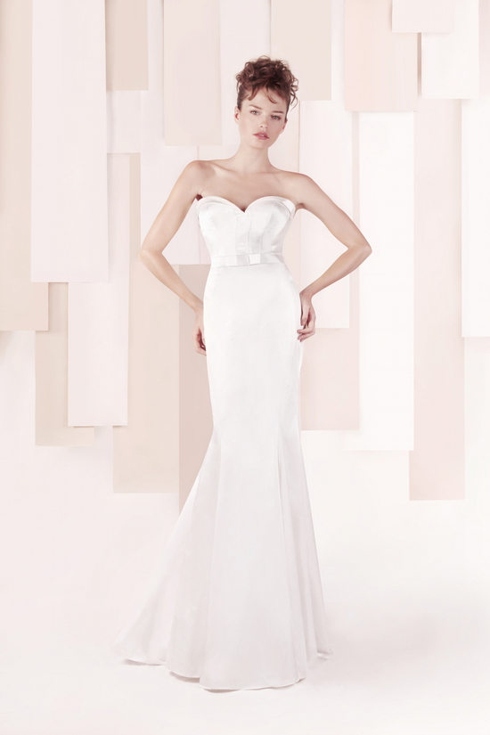 Wedding Dress by Gemy Maalouf 2013 bridal style 3316