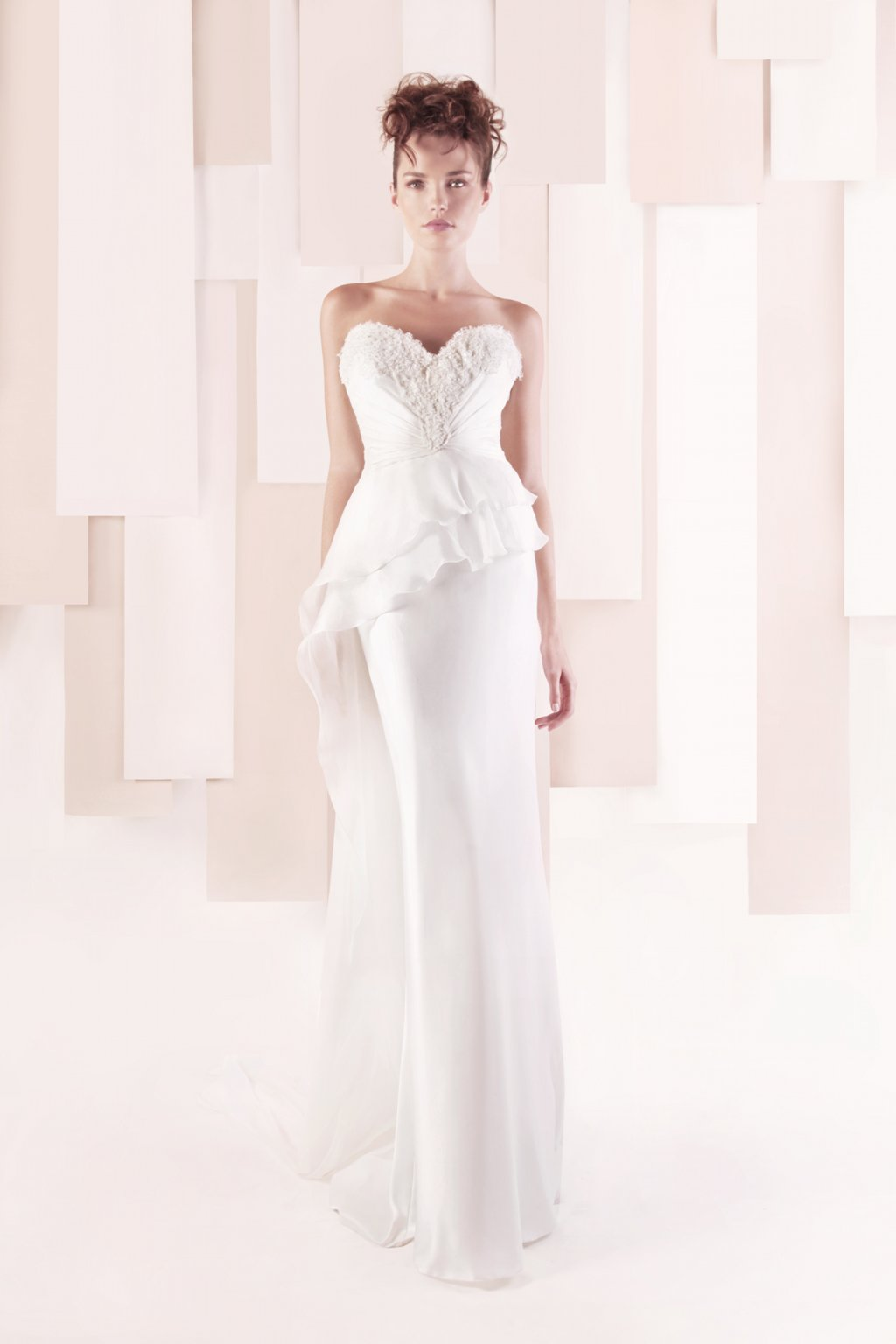 Wedding Dress by Gemy Maalouf 2013 bridal style 3304