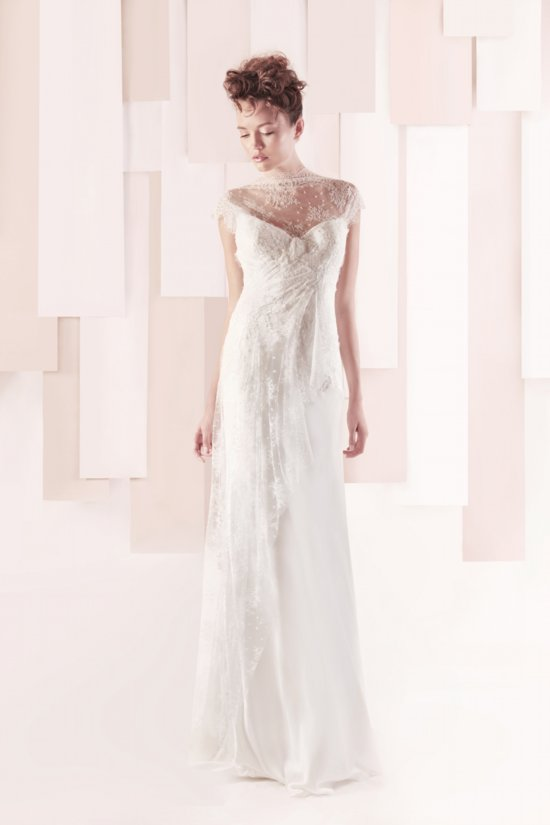 Wedding Dress by Gemy Maalouf 2013 bridal style 3296