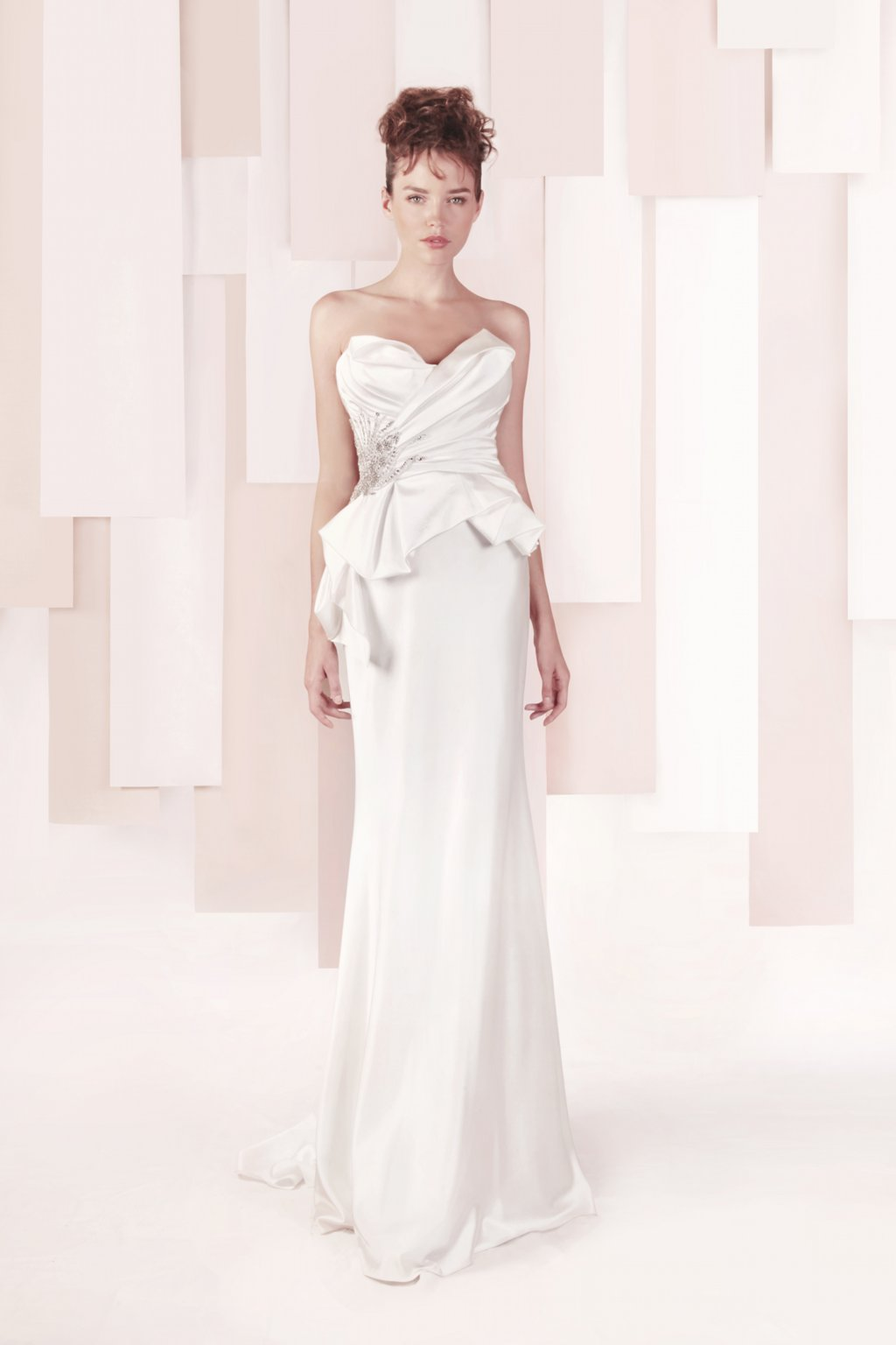 Wedding Dress by Gemy Maalouf 2013 bridal style 3288