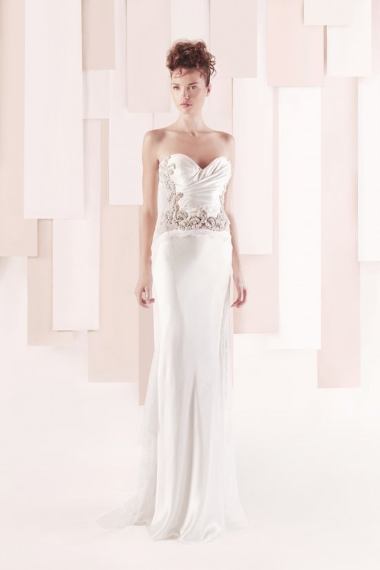 Wedding Dress by Gemy Maalouf 2013 bridal style 3171