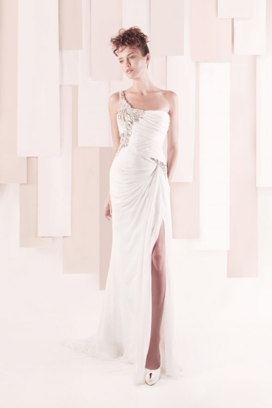 Wedding Dress by Gemy Maalouf 2013 bridal style 2882