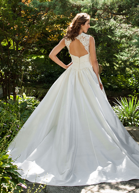 photo of Classic wedding dress by Lea Ann Belter 2013 Bridal Bernadette