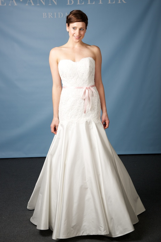 Lea Ann Belter wedding dress 2013 bridal Maude