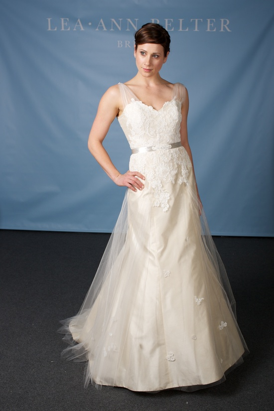 Lea Ann Belter wedding dress 2013 bridal Clara