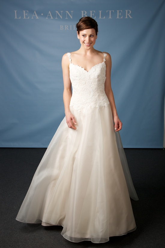 Lea Ann Belter wedding dress 2013 bridal Scarlette