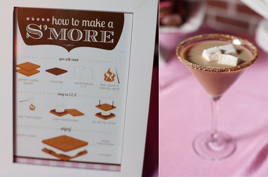 DIY s'mores and chic martinis