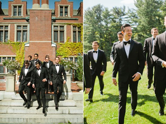 Amazing wedding photography by Shannen Natasha Dapper Groom and Groomsmen in black tuxedos
