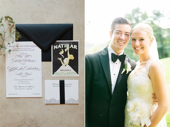 Amazing wedding photography by Shannen Natasha elegant Gatsby invitations
