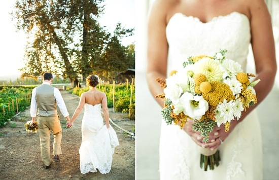 Amazing wedding photography by Shannen Natasha yellow and white bouquet