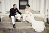 Bride-groom-lace-wedding-dress-military-groom.square