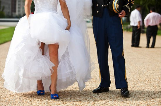 Real weddings with military grooms in uniform- 3